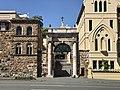 All Hallows' School Ann Street entry gate, Brisbane.jpg