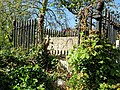 All Hallows Church Tottenham London England - churchyard chest tomb overgrown 7.jpg