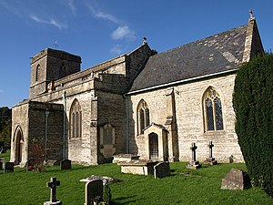 East Pennard - Image: All Saints church, East Pennard geograph.org.uk 1025320