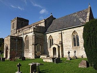 East Pennard - Image: All Saints church, East Pennard geograph.org.uk 1025320