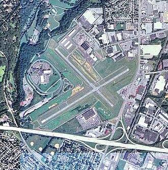 Allentown Queen City Municipal Airport - USGS aerial image, 2006