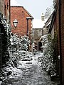 Alleyway off North Gate, Sleaford. - geograph.org.uk - 935970.jpg