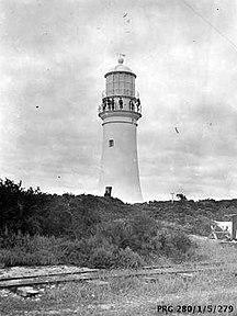 Althorpe Island-Maritime Heritage-Althorpe Island lighthouse, South Australia, 1900