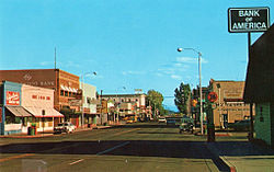 Alturas' Main Street in 1975