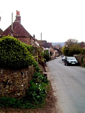 Amberley, West Sussex - Amberley village