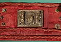 Ambito di nicola pisano, placchette della sacra cintola della cattedrale di pisa, 1280 ca., 10 decollazione di s. paolo.jpg