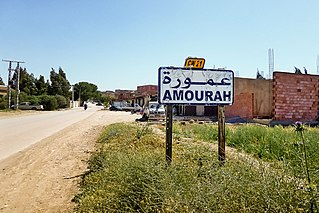 Amourah Commune and town in Djelfa Province, Algeria