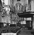 Amsterdam. Interieur van de Westerkerk met het grote orgel en de preekstoel, Bestanddeelnr 918-1330.jpg