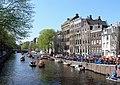 Amsterdam - Koninginnedag 2012 - Herengracht.JPG