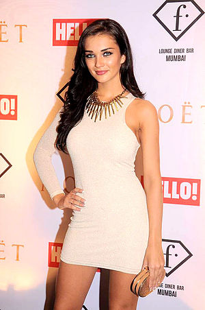 Amy Jackson - Amy Jackson graces the Moet N Chandon bash at F bar.