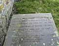 An 18thC grave on the north side of Llanrhwydrus Church - geograph.org.uk - 1220094.jpg