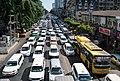 Anawrahta road traffic.jpg