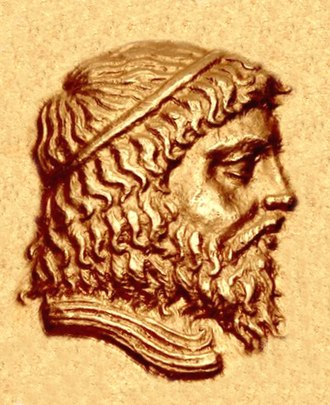 Andragoras (Seleucid satrap) - Portrait of Andragoras, from his coinage.