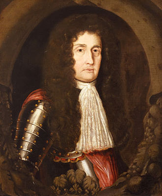 1689 Boston revolt - Portrait of Dominion Governor Sir Edmund Andros by Mary Beale