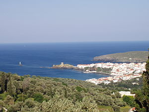 Andros town (Chora)