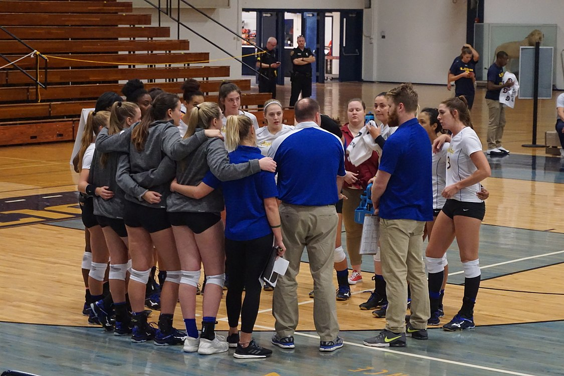 Angelo State vs. Texas A&M–Commerce volleyball 2017 06.jpg