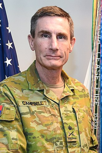 Chief of Army (Australia) - Image: Angus Campbell