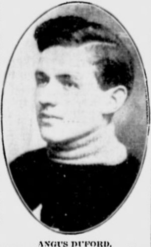 Angus Duford - Image: Angus Duford, Ottawa Senators