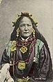 "Ani Chokyi hand colored postcard titled ""Tibetan Lady"".jpg"