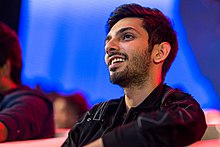 Anirudh Ravichander at the Velaikkaran Audio Launch.jpg