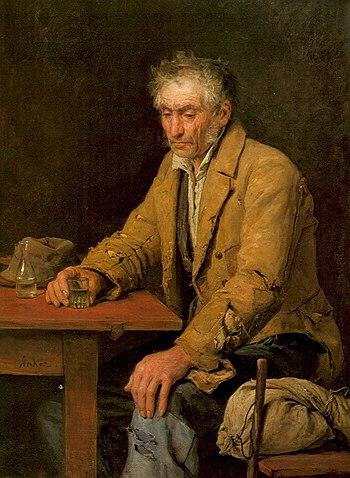 """Anker. """"The Drinker"""", 1868"""