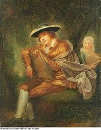 Anna Dorothea Therbusch - Dubbelportret van Johann Christian Samuel Gohl en zijn (toekomstige) schoonmoeder, de schilderes Ann - GK 959 (1875-1390) (HMWK 3003383) - Museumslandschaft Hessen Kassel.jpg