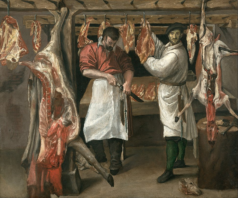 Annibale Carracci - The Butcher's Shop - Google Art Project