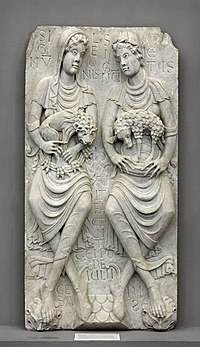 Anonyme toulousain - Haut-relief , Le Signe du Lion et le Signe du Bélier - Musée des Augustins - ME 206.jpg