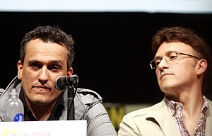 Russo brothers - Anthony Russo (right) and Joe Russo at the 2013 San Diego Comic-Con International
