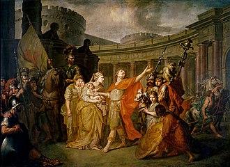 Anton Losenko, Hector et Andromaque 1773
