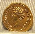 Antonino pio, aureo per marco aurelio cesare, 140-161 ca., 01.JPG