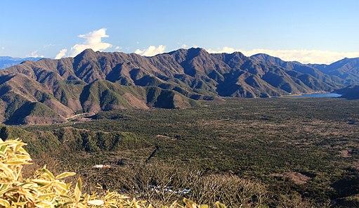 Aokigahara and Misaka Mountains