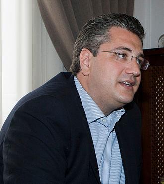 Apostolos Tzitzikostas - Image: Apostolos Tzitzikostas 2014