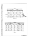 Appellate Court Building, Fourteenth and Main Streets, Mount Vernon, Jefferson County, IL HABS ILL,41-MOVER,1- (sheet 2 of 4).png