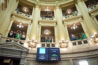 Approbation de l'interruption volontaire de grossesse au Sénat d'Argentine - 03.jpg