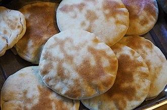 Pita - Arabic bread (Pita).