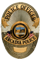 Arcadia Police badge.png