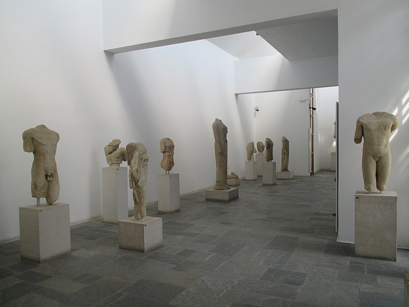 Tiedosto:Archaeological Museum of Samos collections 01.jpg