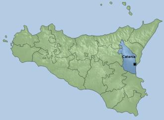 Roman Catholic Archdiocese of Catania - Image: Arcidiocesi di Catania