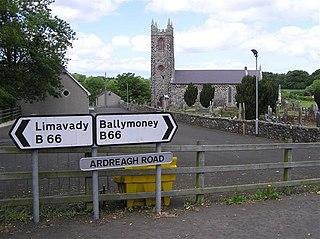 Aghadowey townland in Northern Ireland, United Kingdom