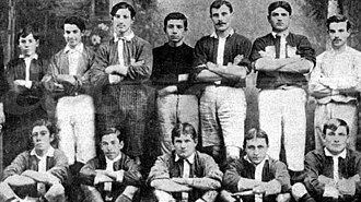 Argentinos Juniors - Team of Argentinos Juniors in 1907