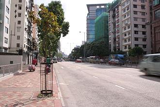 Argyle Street, Hong Kong - A view of Argyle Street near Kowloon City.