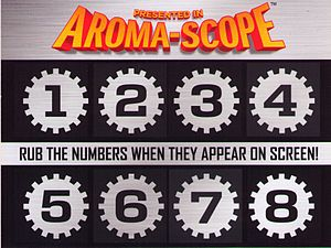 Smell-O-Vision - Aroma-Scope card