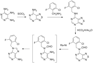 Arprinocid - Image: Arprinocid synthesis