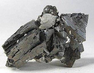 Arsenopyrite - Image: Arsenopyrite 117874