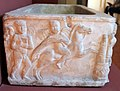 Arte romana, sarcofago con eroti aurighi, 150-200 dc ca. 03.JPG