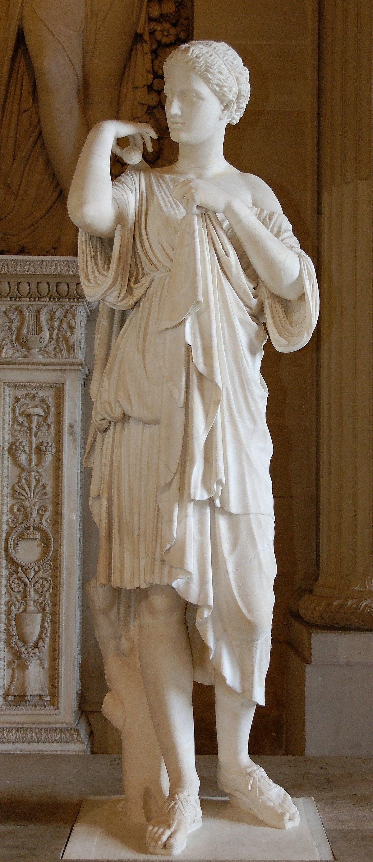 Древнегреческий бог артемис