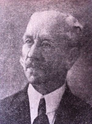 Jorge Ubico - Arturo Ubico Urruela, father of general Ubico.