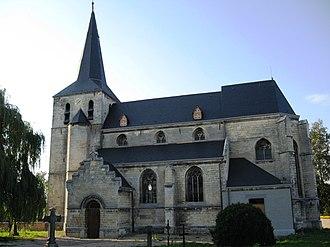 As, Belgium - Image: As Sint Aldegondiskerk
