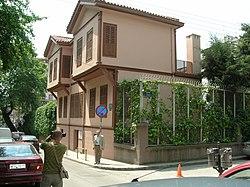 """Atatürk'ün evi"" (Apostolu Pavlu Cad. No: 75, Aya Dimitriya Mah., Selanik)"